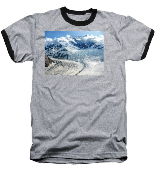 Wrangell Alaska Glacier Baseball T-Shirt