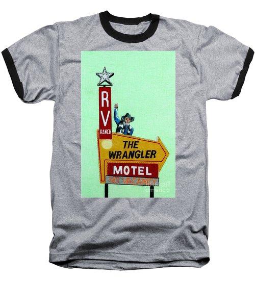 Wrangler Motel Baseball T-Shirt