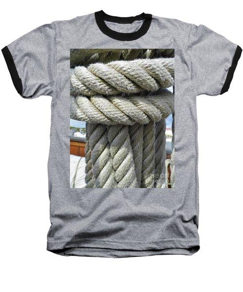 Wrapped Up Tight Baseball T-Shirt