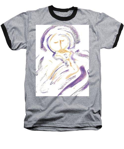 Wrapt In Prayer Baseball T-Shirt