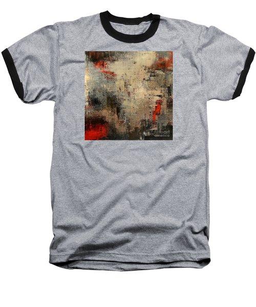 Wreckage Baseball T-Shirt by Tatiana Iliina
