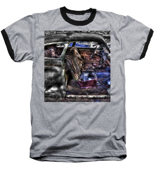 Wrecking Yard Study 1 Baseball T-Shirt