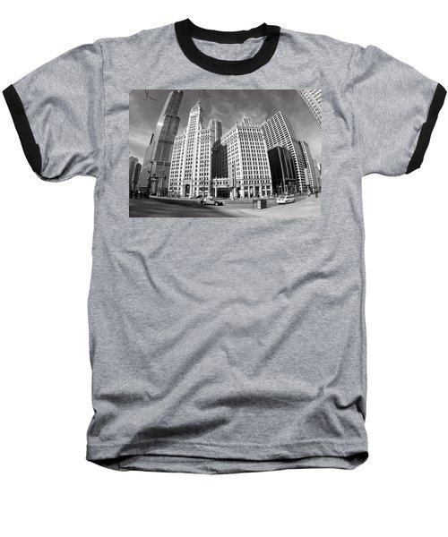 Wrigley Building - Chicago Baseball T-Shirt