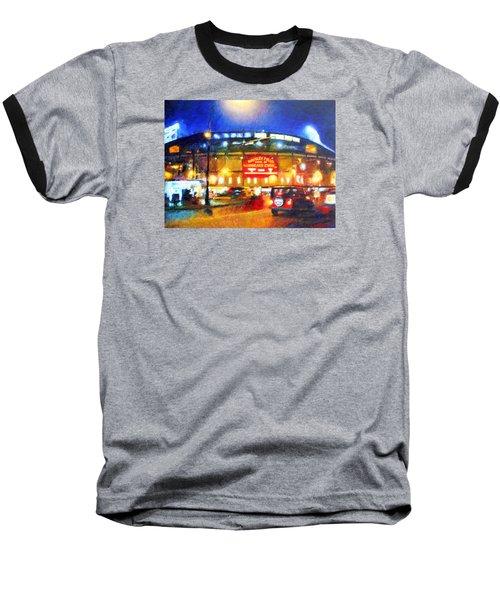 Wrigley Field Home Of Chicago Cubs Baseball T-Shirt