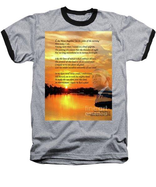 Writer, Artist, Phd. Baseball T-Shirt by Dothlyn Morris Sterling