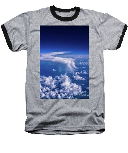 Writing In The Sky Baseball T-Shirt