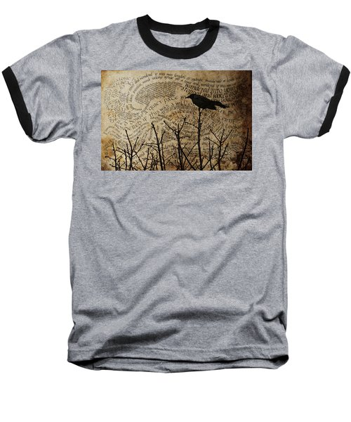Baseball T-Shirt featuring the photograph Written On The Wind by Jan Amiss Photography