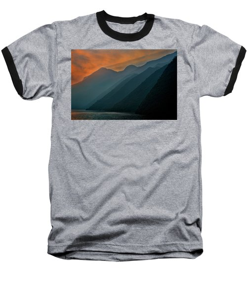 Wu Gorge Sunrise Baseball T-Shirt
