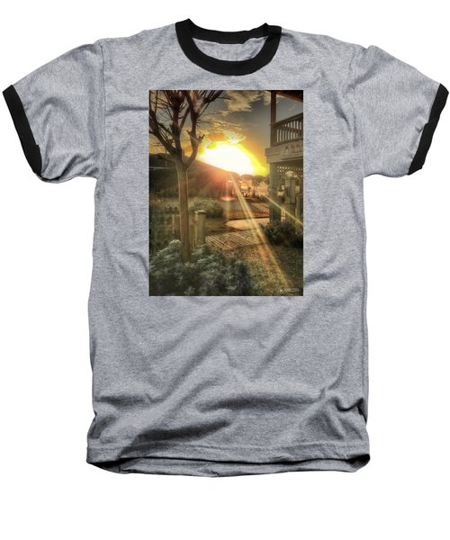Baseball T-Shirt featuring the photograph Wu Wu's Beach by Phil Mancuso