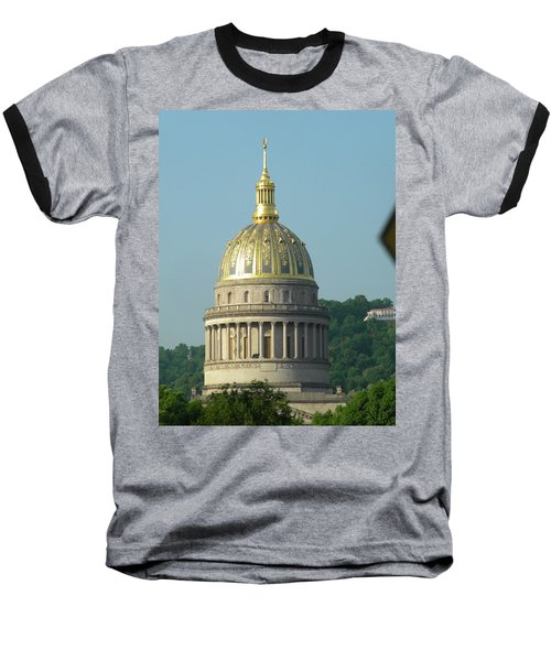 Wv State Capital Building  Baseball T-Shirt