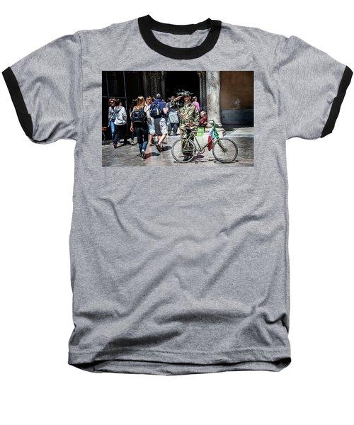 Ww II Soldier Baseball T-Shirt by Patrick Boening