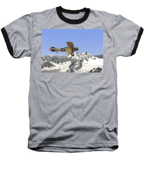 Baseball T-Shirt featuring the photograph Ww1 - Bristol Fighter by Pat Speirs
