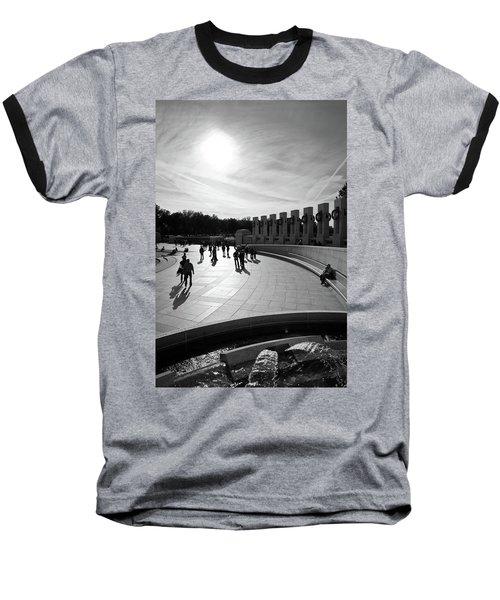 Wwii Memorial Baseball T-Shirt
