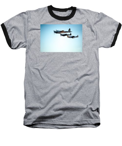 Wwii Planes Baseball T-Shirt