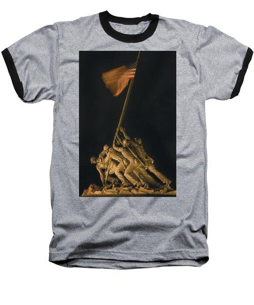 Iwo Jima Remembrance Baseball T-Shirt