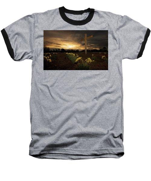 Wye Mountain Sunset Baseball T-Shirt