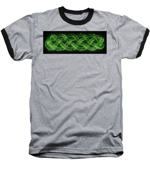 Wyrm - The Celtic Serpent Baseball T-Shirt
