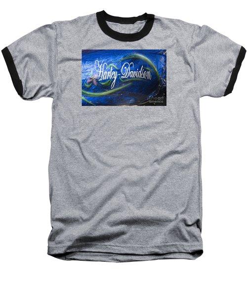 Harley Davidson 2 Baseball T-Shirt
