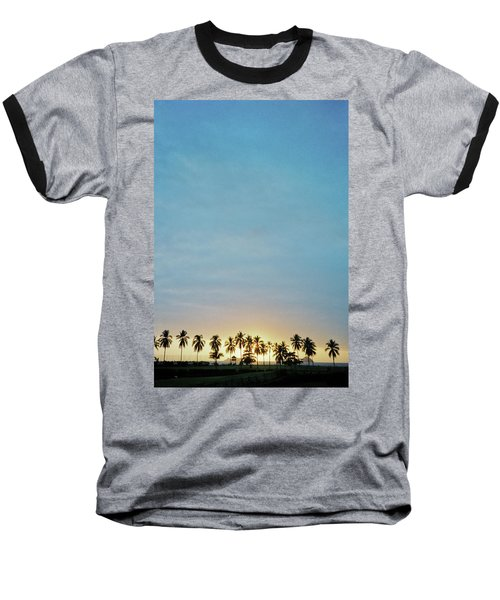 Baseball T-Shirt featuring the photograph Xtapa Sunset by Frank DiMarco