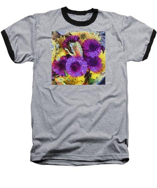 Xtreme Floral Twelve Cozy And Snug Baseball T-Shirt