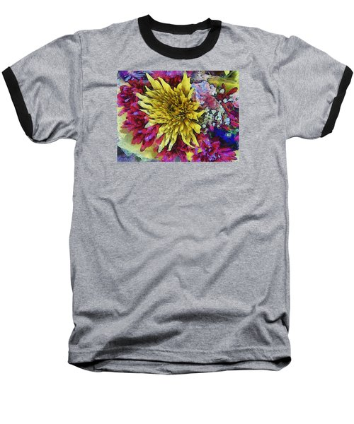 Xtreme Floral Thirteen Reaching Out Baseball T-Shirt