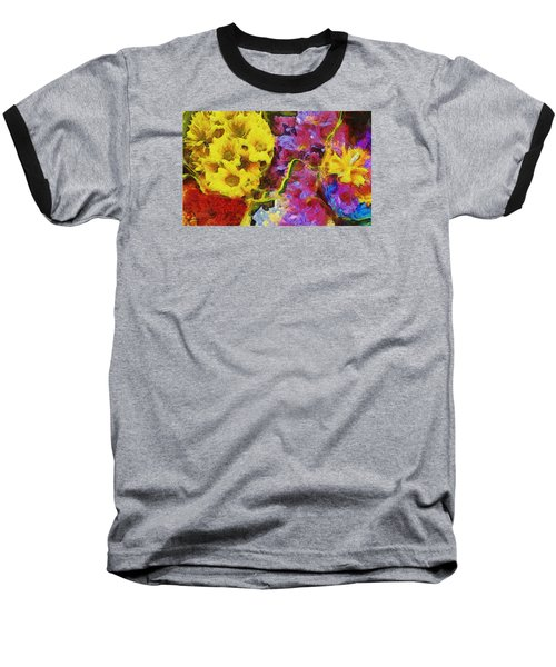 Xtreme Floral One Just Plain Magic Baseball T-Shirt