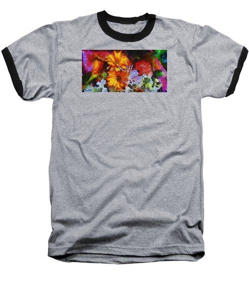 Xtreme Floral Two Baseball T-Shirt