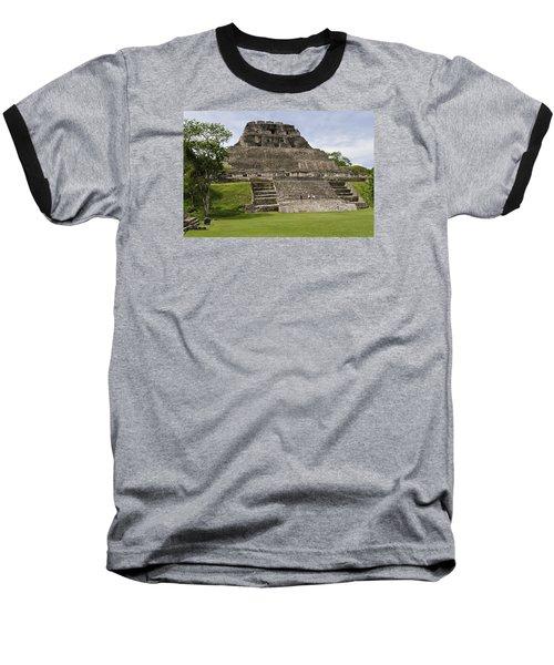 Xunantunich   Baseball T-Shirt by Glenn Gordon
