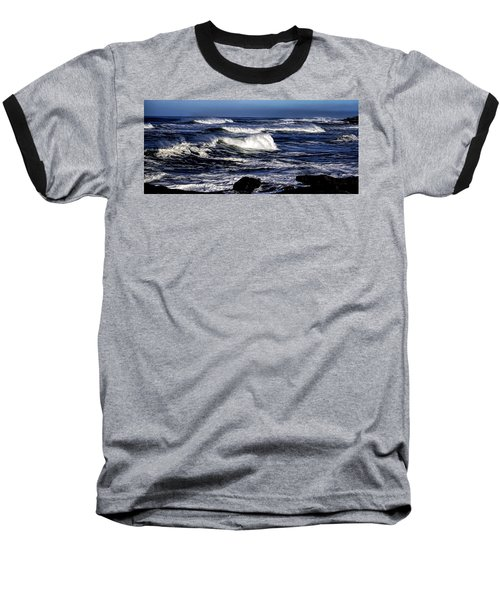 Yachats Bay Baseball T-Shirt