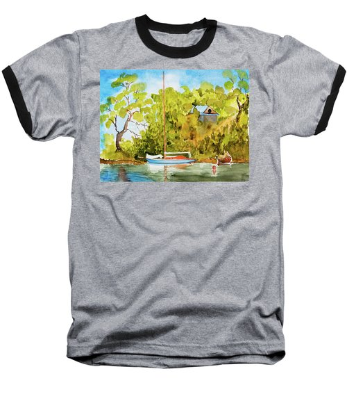 Yacht Weene' In Barnes Bay  Baseball T-Shirt