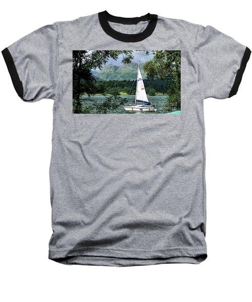 Yachting Lake Windermere Baseball T-Shirt