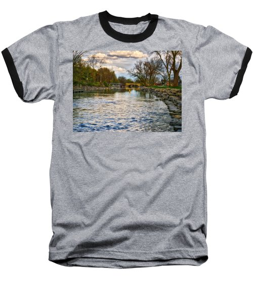 Yahara River, Madison, Wi Baseball T-Shirt