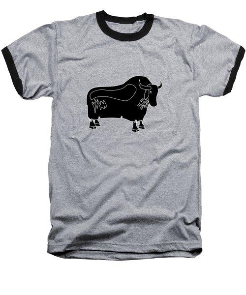 Yak Baseball T-Shirt by Frederick Holiday