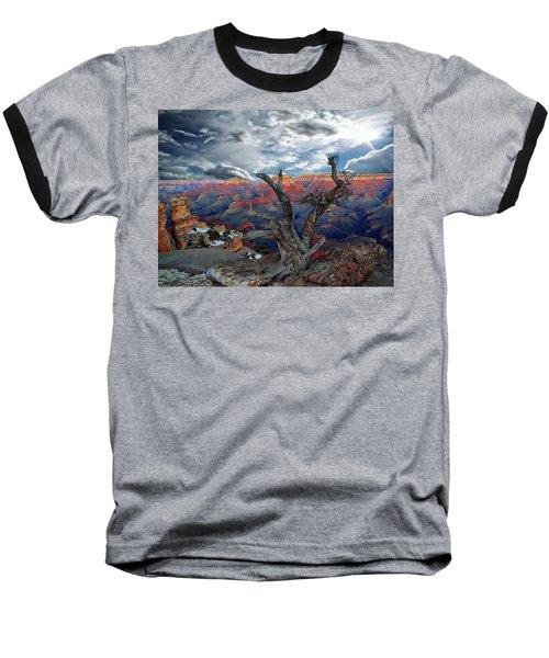 Yaki Point Grand Canyon Baseball T-Shirt