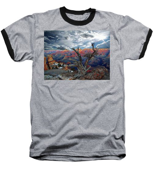 Yaki Point Grand Canyon Baseball T-Shirt