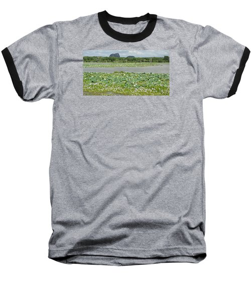 Yala National Park Baseball T-Shirt by Christian Zesewitz