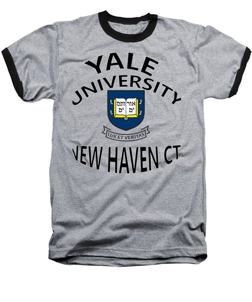 Yale University New Haven Connecticut  Baseball T-Shirt by Movie Poster Prints