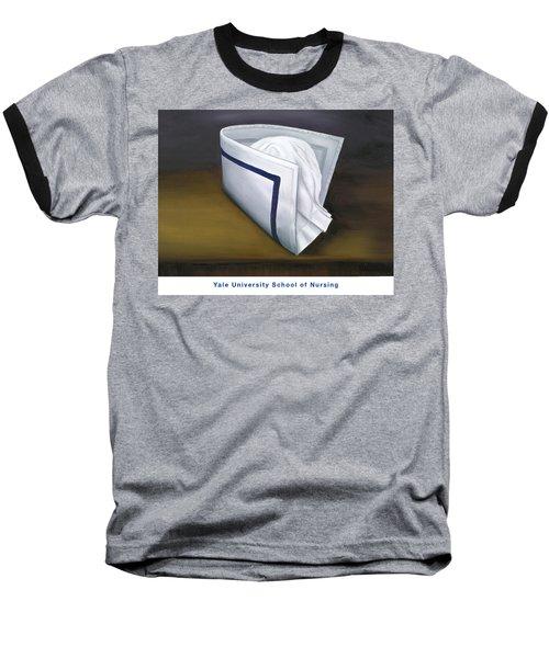 Yale University School Of Nursing Baseball T-Shirt by Marlyn Boyd
