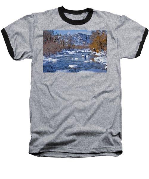 Yampa River Baseball T-Shirt by Sean Allen