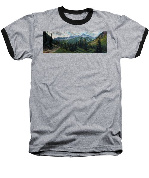 Baseball T-Shirt featuring the painting Yankee Boy Basin by Billie Colson
