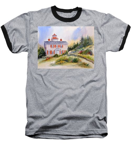 Yaquina Bay Light Baseball T-Shirt