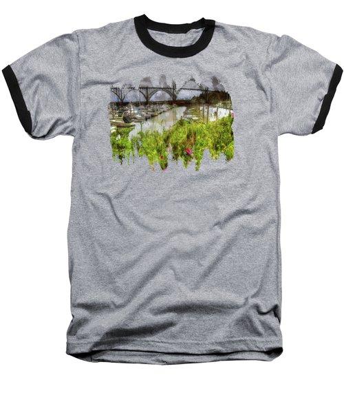 Yaquina Bay Roses Baseball T-Shirt