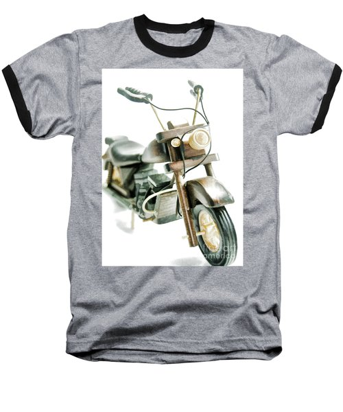 Yard Sale Wooden Toy Motorcycle Baseball T-Shirt