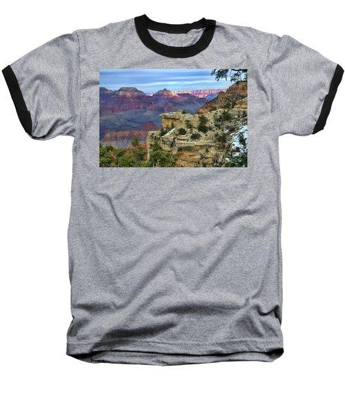 Yavapai Point Sunset Baseball T-Shirt