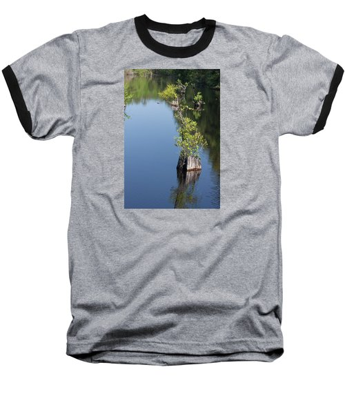 Baseball T-Shirt featuring the photograph Yawkey Wildlife Refuge - Cat Island by Suzanne Gaff