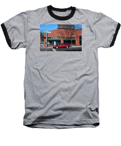 Baseball T-Shirt featuring the photograph Ye Olde Cock N Bull by Michiale Schneider