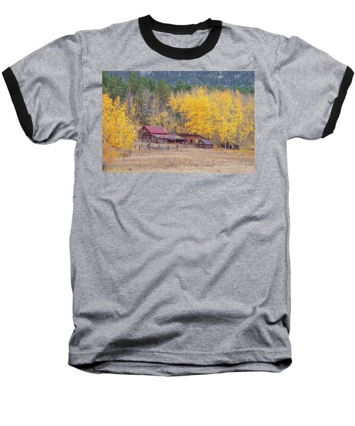 Yearning For The Tranquility Of A Rustic Milieu  Baseball T-Shirt