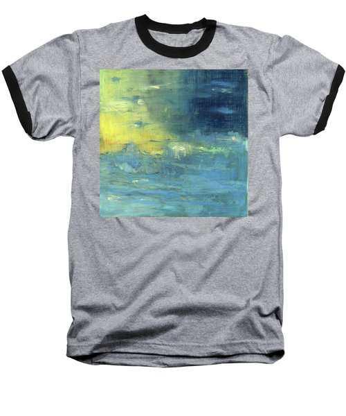 Baseball T-Shirt featuring the painting Yearning Tides by Michal Mitak Mahgerefteh
