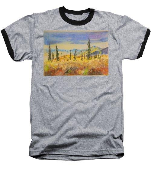 Yellow Alaska Baseball T-Shirt