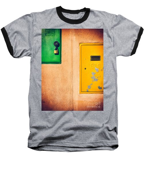 Baseball T-Shirt featuring the photograph Yellow And Green by Silvia Ganora
